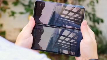 Pantalla exterior Samsung Galaxy S8 y HTC U11