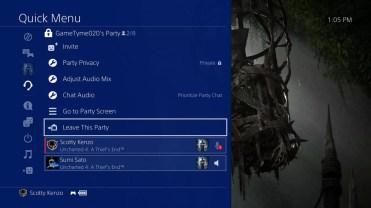 Amigos en la actualización PlayStation 4 5.0