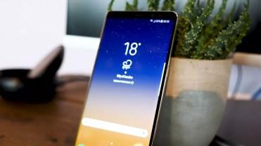 Imagen frontal del Samsung Galaxy Note 8