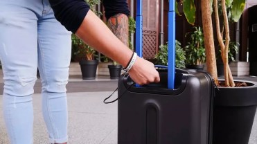 Uso de maleta Bluesmart Luggage