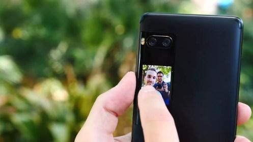 Selfie pantalla Meizu Pro 7