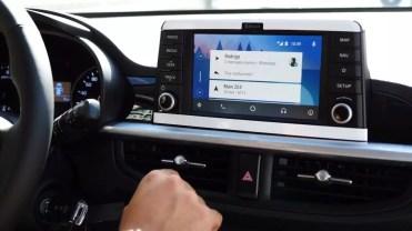 Tarjetas Android Auto en KIA Picanto