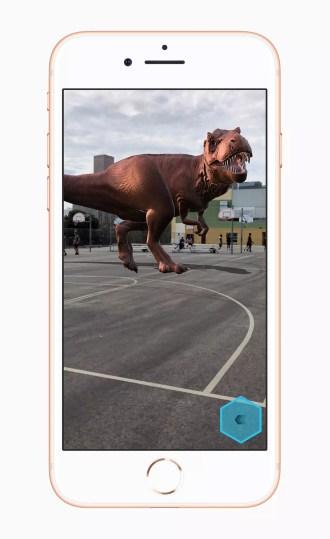 Realidad aumentada en iPhone 8