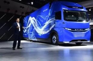 Presentación Vision One camión eléctrico