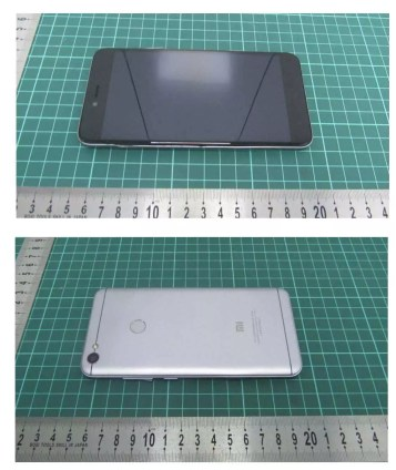 Diseño del Xiaomi Note 5A Prime