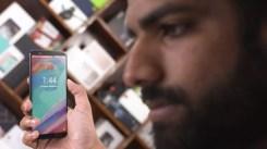 Cara girada uso reconocimiento facial OnePlus 5T