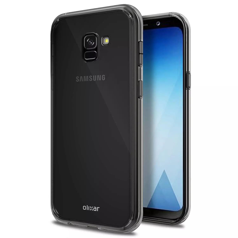 Funda transparente Samsung Galaxy A5 2018