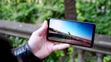 Calidad del panel LG V30