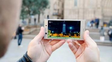 Calidad de pantalla en el Sony Xperia XZ1 Compact