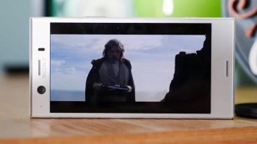 Calidad del panel en el Sony Xperia XZ1 Compact