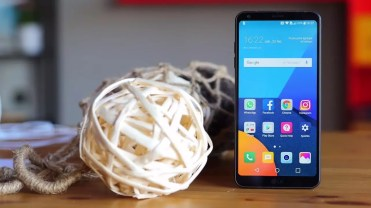 Imagen frontal del LG G6
