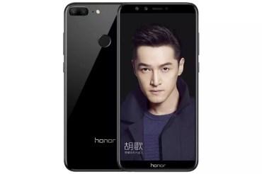 Honor 9 Lite de color negro