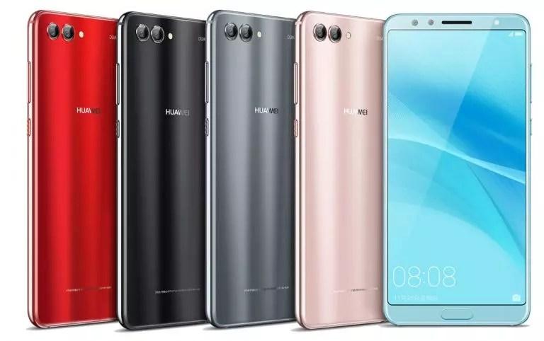 Colores del Huawei Nova 2S