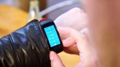 Información en la Samsung Gear Fit 2 Pro