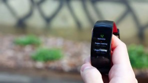 pantalla de la pulsera Samsung Gear Fit 2 Pro