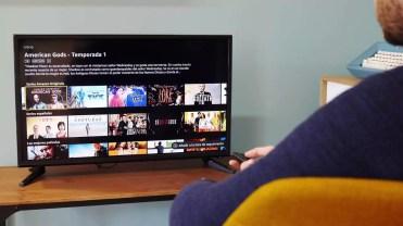 Interfaz de usuario en el Amazon Fire TV Stick