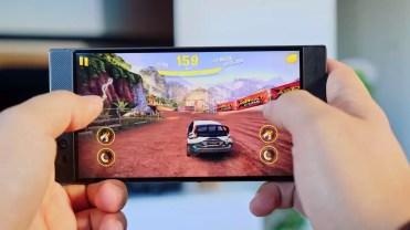 Juego en el Razer Phone