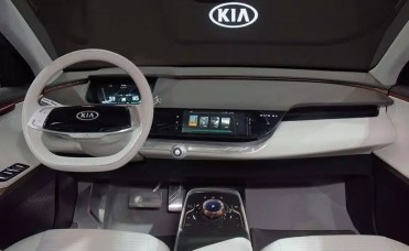 KIA Ace interior