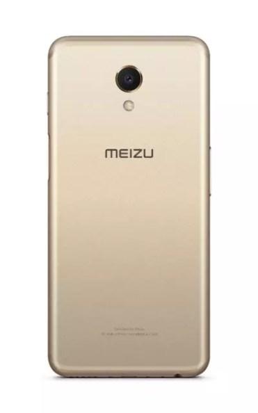 Imagen trasera del Meizu M6s