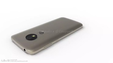 Imagen trasera del Motorola Moto E5