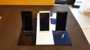 Colores del teléfono Sony Xperia XZ2