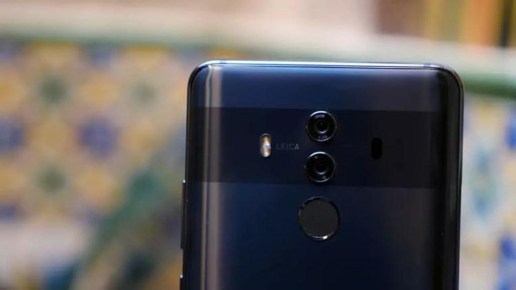 Cámara del Huawei Mate 10