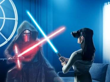 Jugando a Star Wars Desafíos Jedi