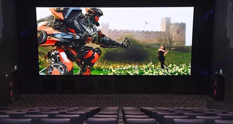 pantalla de cine LED 3D de samsung