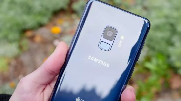 Imagen trasera del Samsung Galaxy S9