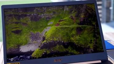 Calidad de la pantalla del Acer Swift 5