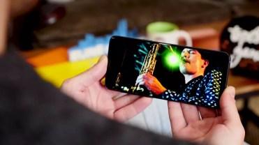 Calidad de la pantalla del Samsung Galaxy S9