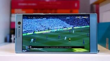 panel del Sony Xperia XA2
