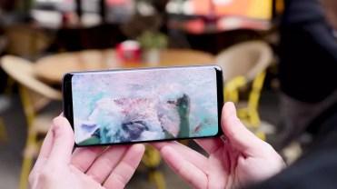 Calidad del panel del Samsung Galaxy S9