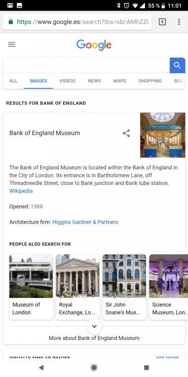 Imágenes asociadas con Google Lens