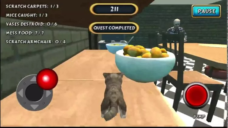 Juego para Android Cat Simulator Kitty Craft Pro Edition
