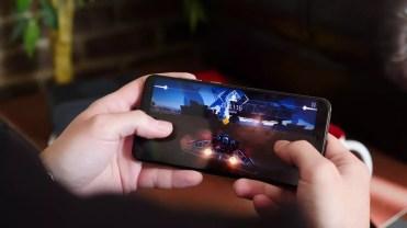 uso de un juego con el Huawei P20 Pro