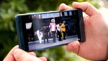 calidad de la pantalla del Sony Xperia XZ2