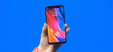 Imagen frontal del Xiaomi Mi 8 Explorer