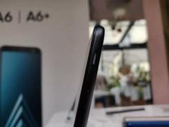 Imagen lateral del Samsung Galaxy A6
