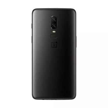 Imagen trasera OnePlus 6 sin acabado de cristal
