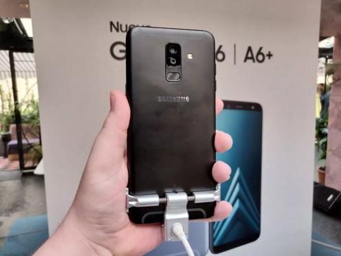 Imagen trasera del Samsung Galaxy A6