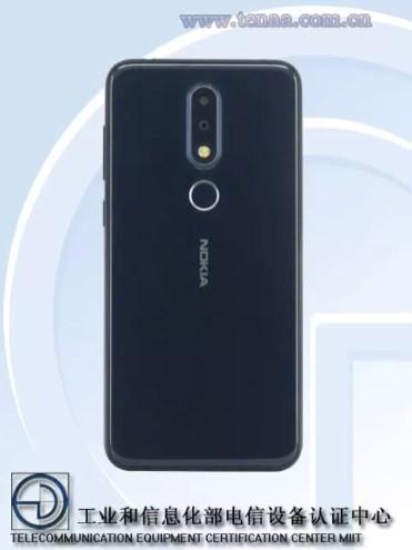 Trasera Nokia X