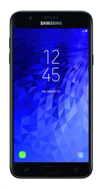 Imagen rontal del Samsung Galaxy J7 2018