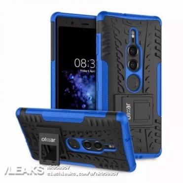 Funda Olixar para el Sony Xperia XZ3 de color azul