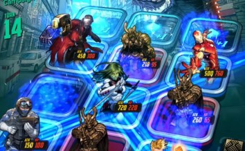 Jugando a Marvel Battle Line