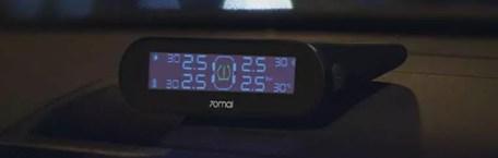 Colocación en coche del Xiaomi Tomai 70