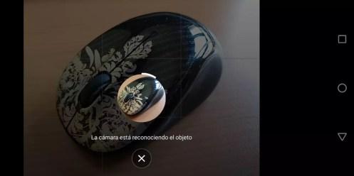 Uso app camara Moto G6