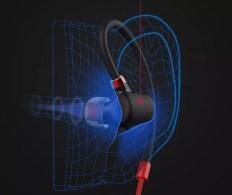Auricular xiaomi en oreja