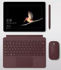 Imagen de Microsoft Surface Go con teclado