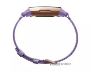 Imagen lateral de la Fitbit Charge 3